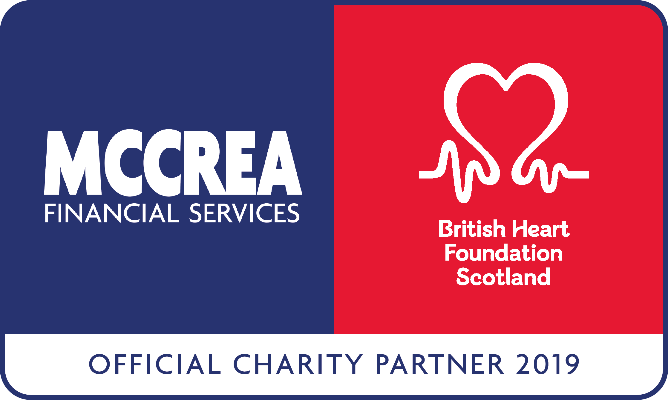 McCrea Financial Services and British Heart Foundation